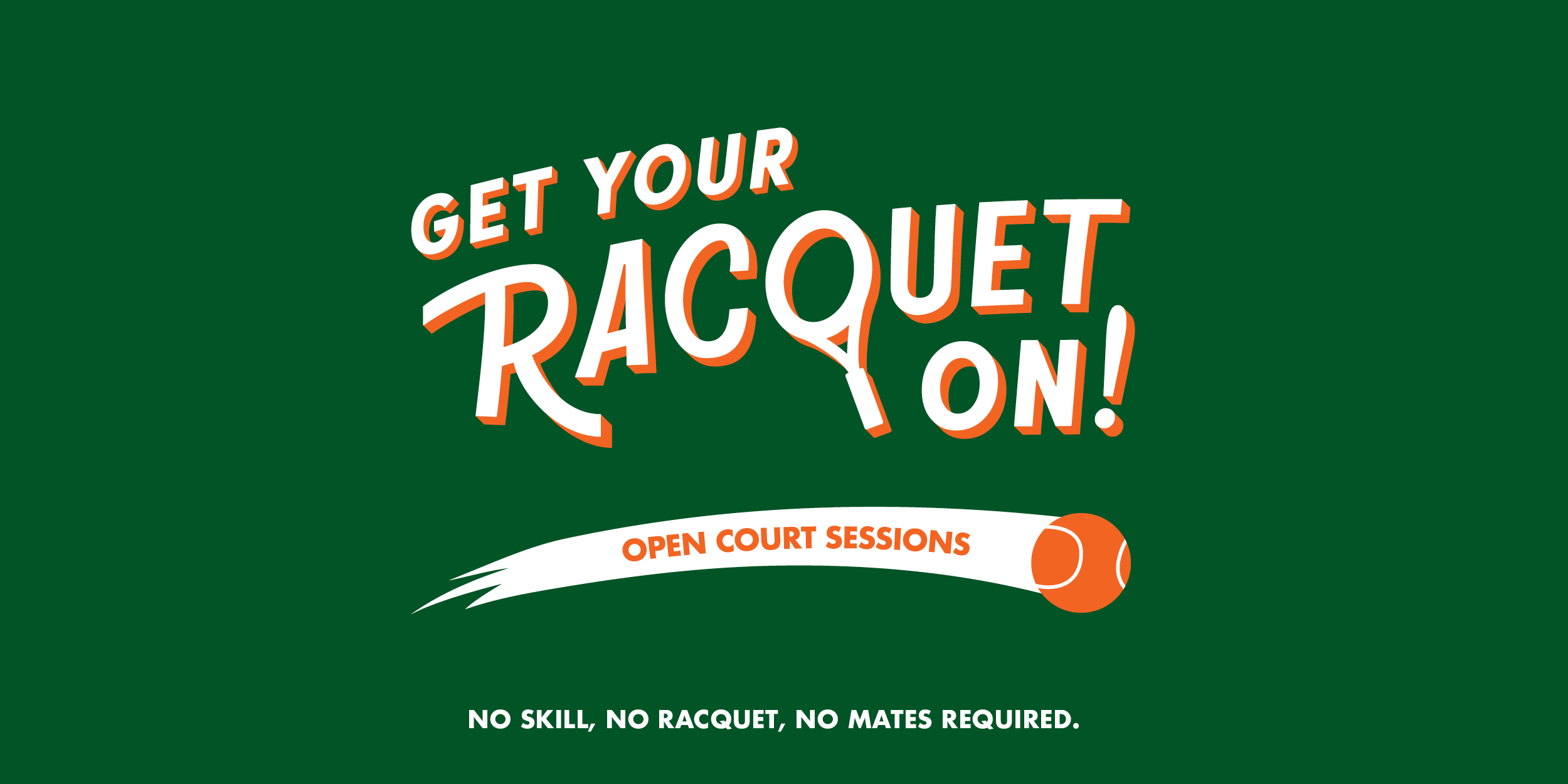 Book an Open Court Session Here